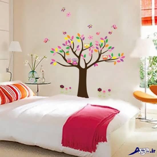 نقاشی روی دیوار اتاق کودک