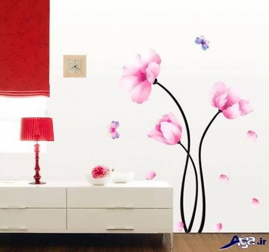 نقاشی روی دیوارهای پذیرایی