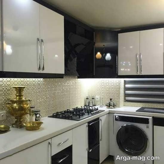کابینت آشپزخانه کوچک با طراحی جدید