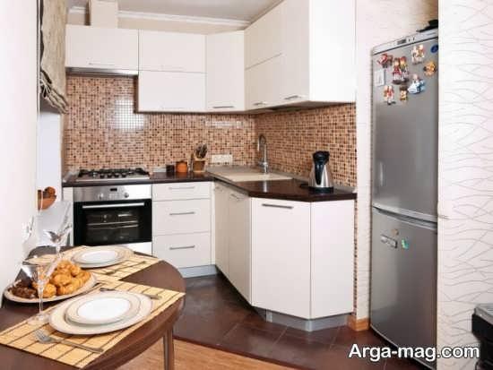 طراحی فوق العاده زیبا کابینت آشپزخانه ایرانی