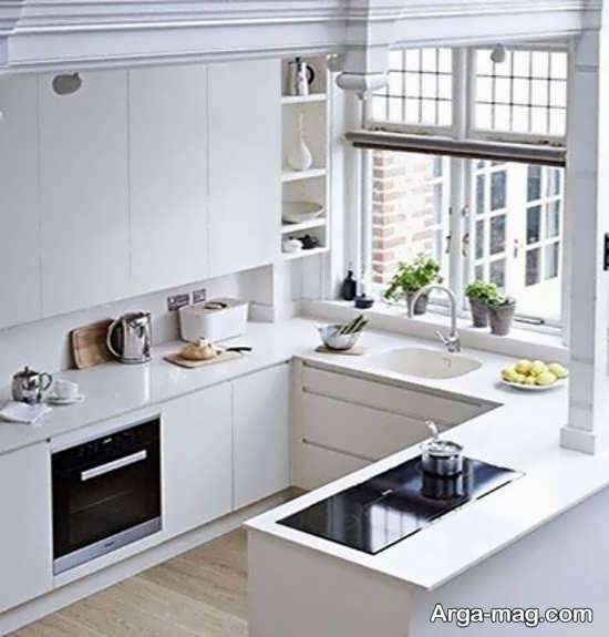 جذاب ترین طراحی کابینت آشپزخانه کوچک