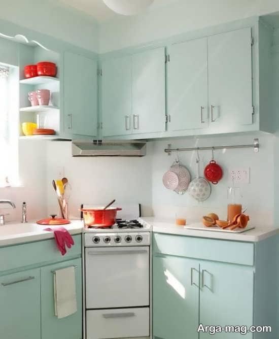 متفاوت ترین طراحی کابینت آشپزخانه کوچک