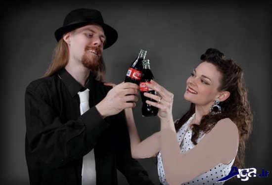 عکس آتلیه ای عروس و داماد