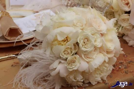 دسته گل عروس زیبا و شیک