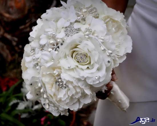 مدل دسته گل عروس شیک و مدرن 2016