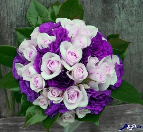 دسته گل شیک و زیبا برای عروس