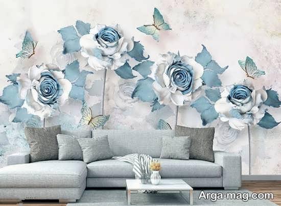 کاغذ دیواری با طرحی از پوستر