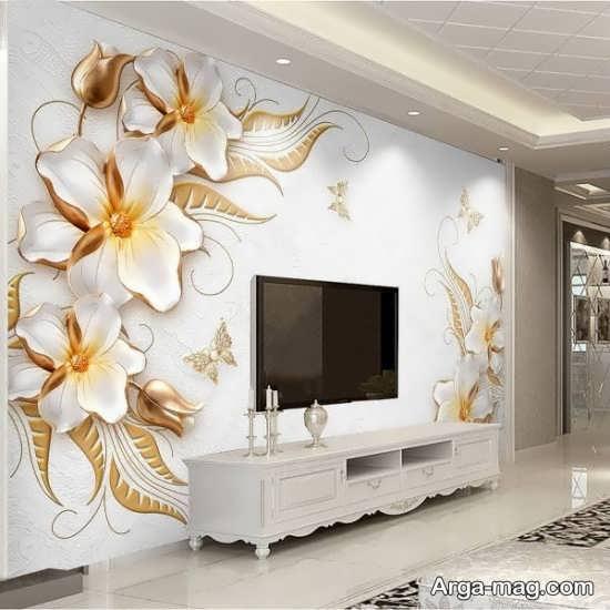 مدلهایی از کاغذ دیواری طرح پوستر
