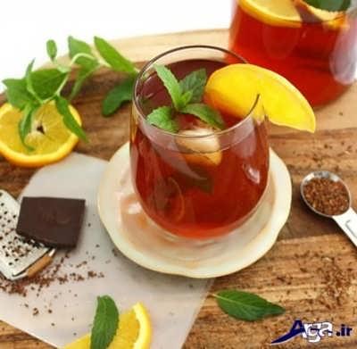 خواص چای به لیمو