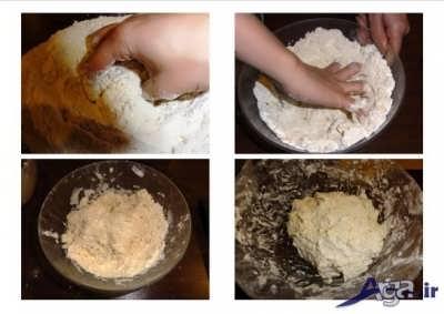 مراحل طرز تهیه خمیر پیتزا