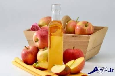 درمان جای جوش یا سرکه سیب