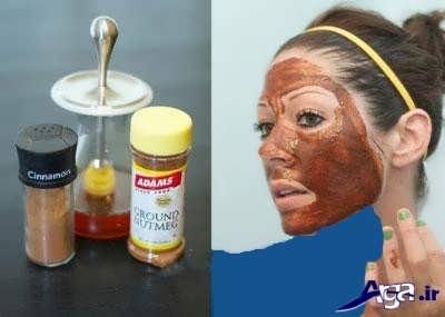 درمان جای جوش در صورت با دارچین و عسل