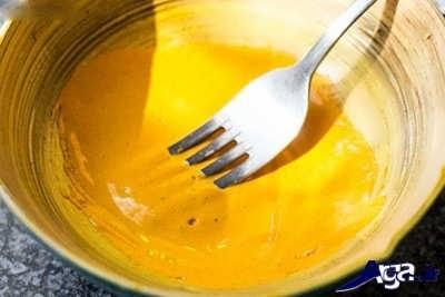 مخلوط کردن زردچوبه با آب نعناع