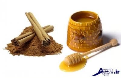 ماسک عسل و پودر دارچین