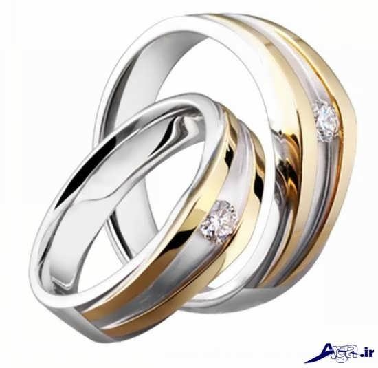 ست حلقه ساده ازدواج و نامزدی