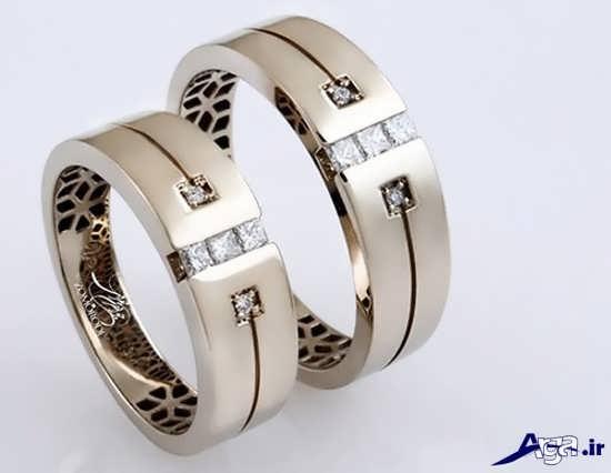 ست حلقه عروسی شیک و ساده