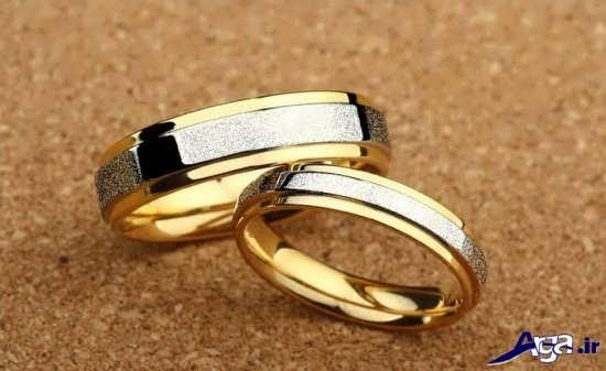 مدل حلقه ازدواج ساده