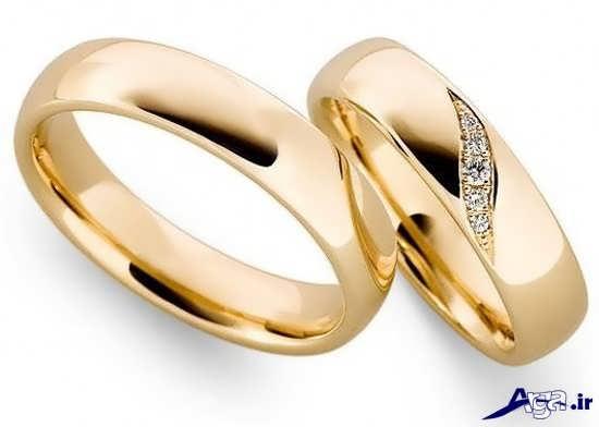 حلقه ازدواج زرد