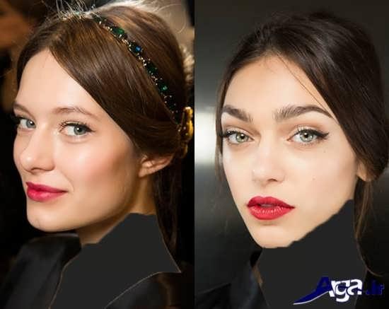 مدل میکاپ ساده دخترانه و زنانه