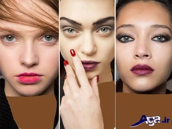 مدل های متنوع و زیبا میکاپ دخترانه