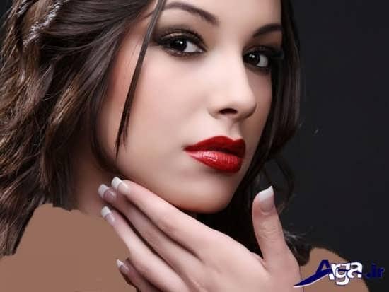 مدل آرایش ساده و زیبا