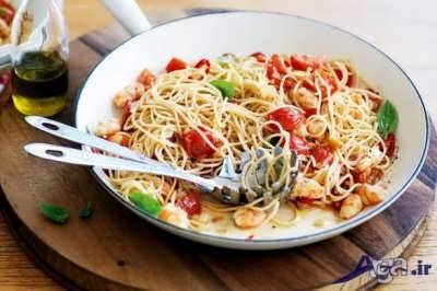 دستور پخت اسپاگتی