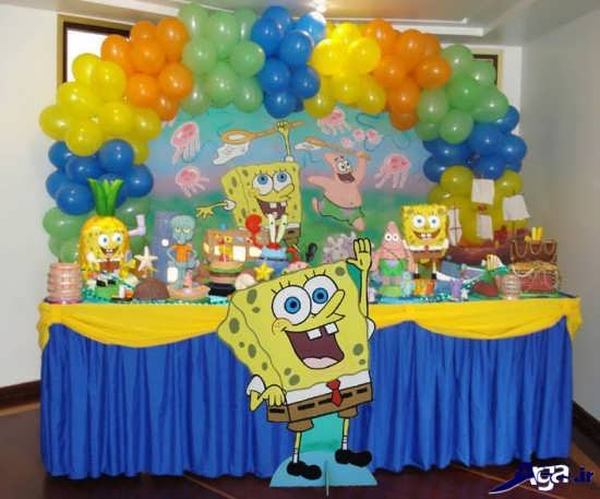 تم جشن تولد باب اسفنجی
