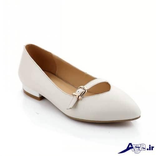 کفش سفید تابستانی