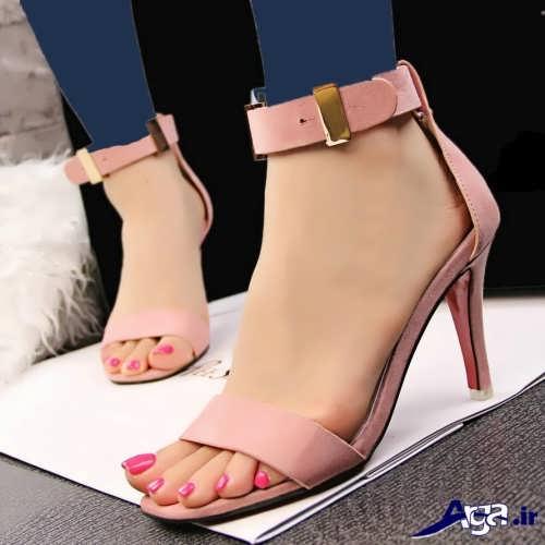 مدل کفش تابستانی پاشنه بلند زنانه