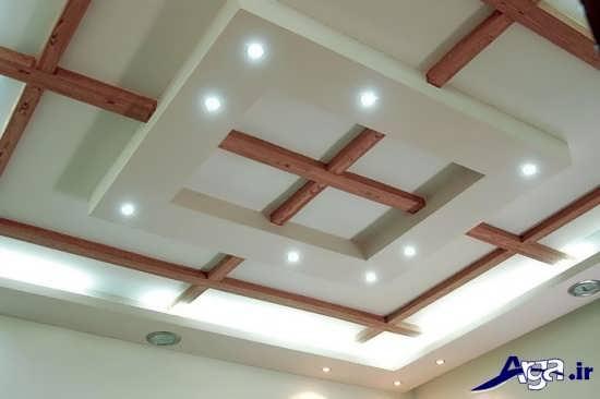 طراحی جدید سقف کناف