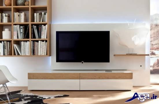 مدل های ساده میز تلویزیون