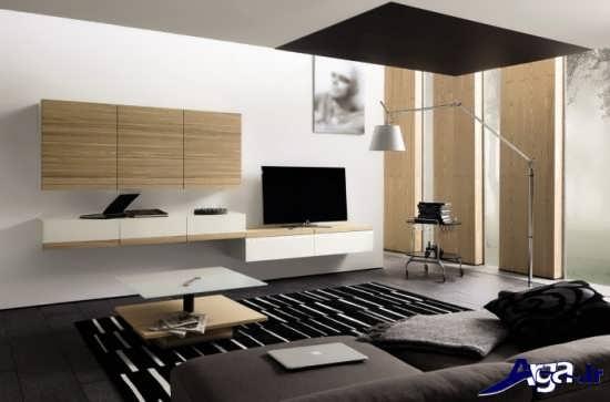 میز تلویزیون دیواری مدرن و جدید