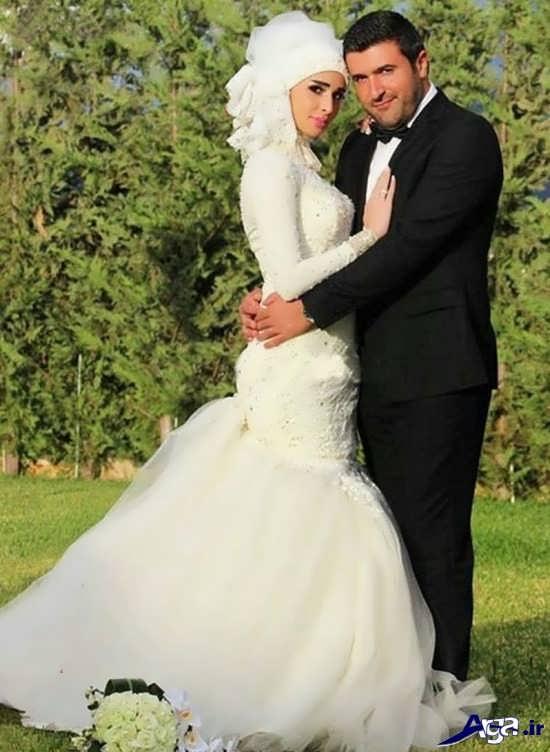 مدل ژست عروس و داماد