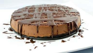 طرز تهیه چیز کیک شکلاتی خوشمزه