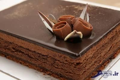 تزیین زیبا چیز کیک