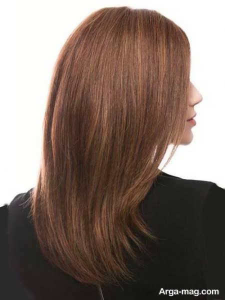 رنگ مو تنباکویی زنانه