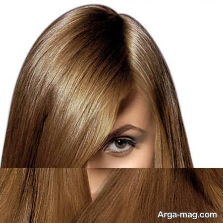 رنگ مو تنباکویی روشن