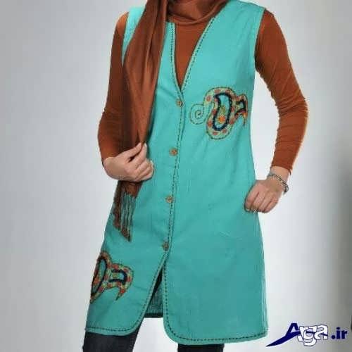 مدل سارافون سنتی برای دختران