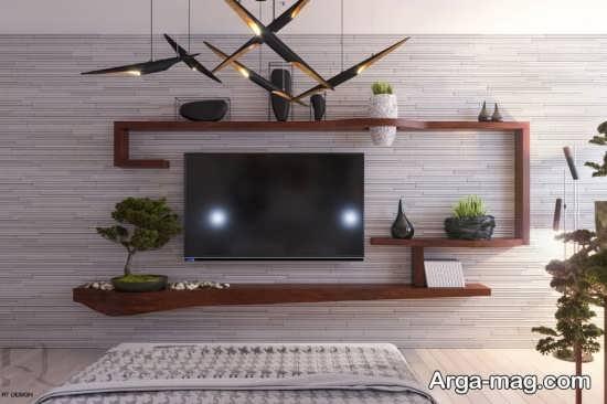 جدیدترین میز تلویزیون دیواری