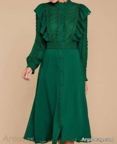 مدل لباس بلند شیک زنانه