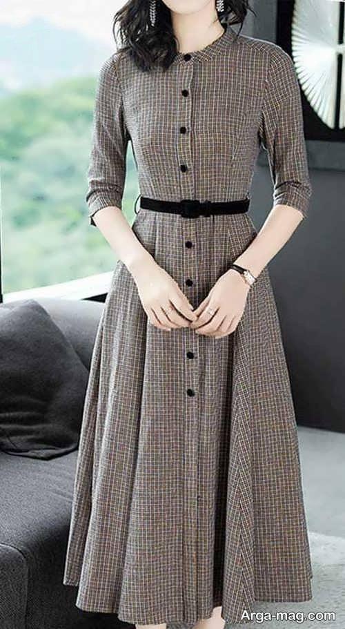 لباس ساده مجلسی زنانه