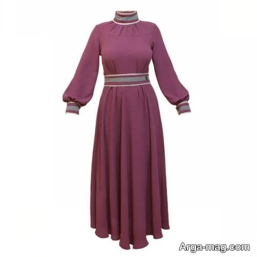 لباس بلند زنانه با طراحی شیک