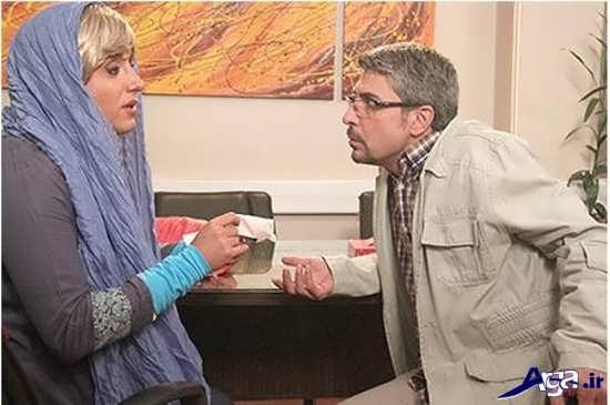 عکس جدید امیر حسین رستمی در نقش زن