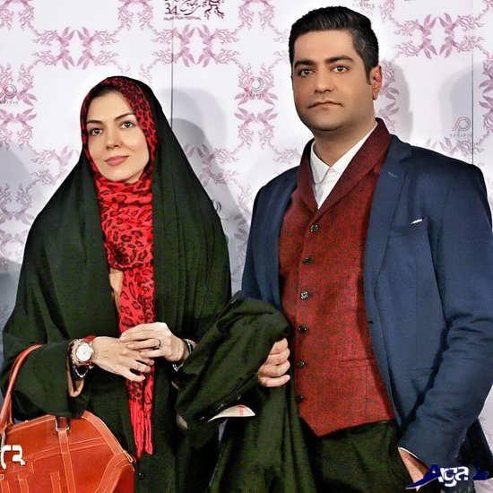 عکس همسر جدید آزاده نامداری