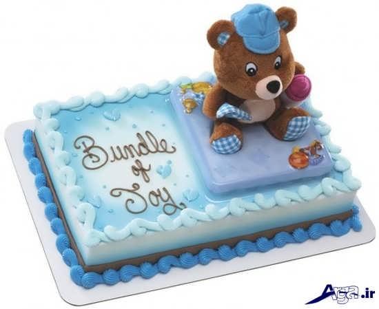 تزیین زیبای کیک فانتزی جدید برای تولد