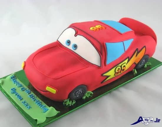 عکس کیک ماشین پسرانه
