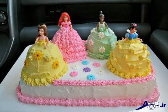 تزیین کیک جشن تولد با خامه