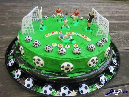 عکس کیک تولد پسرانه جدید و زیبا