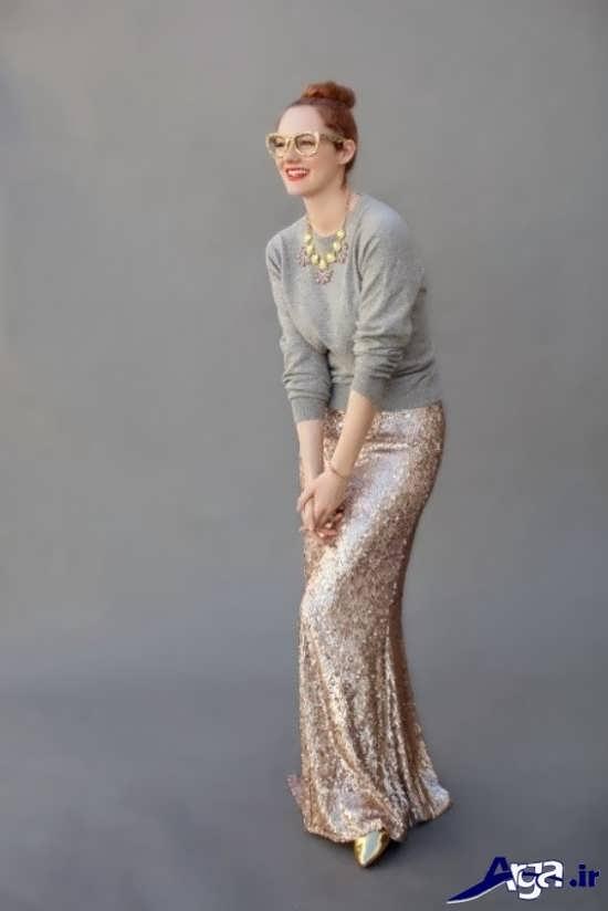 مدل شیک بلوز دامن
