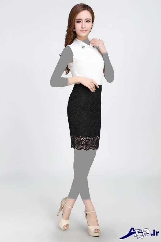 مدل بلوز دامن مجلسی